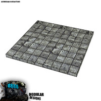 free obj mode modular concrete tile floor