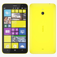 3ds nokia 1320 - yellow