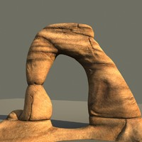 3d model arizona rock