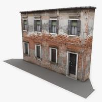 3d model building venice