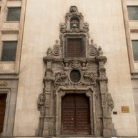 3d obj madrid scanned building portal