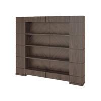 3d model smania bookcase