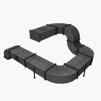 Modular Ventilation Duct