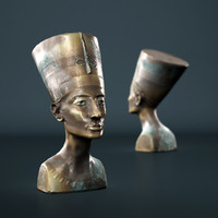 nefertiti bust 3d model