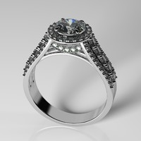 diamond ring obj