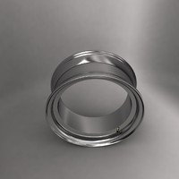 3d model alloy wheel ring