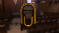 3d ready jukebox model