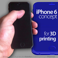 iPhone 6 for 3D printing