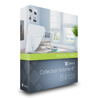 CGAxis Models Volume 47 Blinds MentalRay
