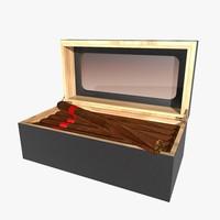 cigar humidor c4d