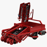 3ds max potato combine harvester