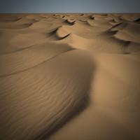 3d model sand dunes