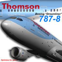 boeing thomson 3d model