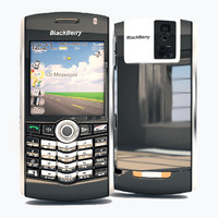 3d model blackberry 8100