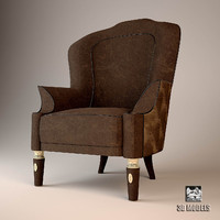 3d visionnaire chair armchair model