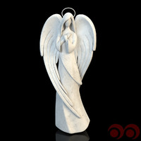 3d christmas angel model