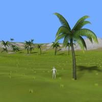 landscape m-01 3d model