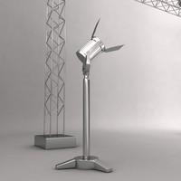 light poles 3d max