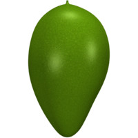 3d model of mango juicy fruit