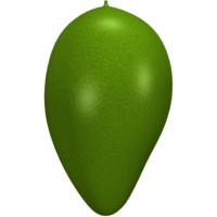 3d model of mango juicy fruit