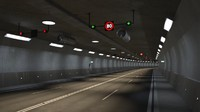 tileable road tunnel 3d max