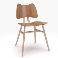 ercol butterfly chair 3d max