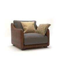 modern armchair sofa design 3d model