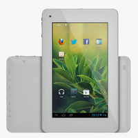 android light pc tablet 3d model