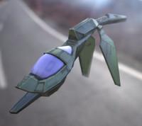 obj sci fi spaceship