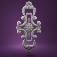 moulding decorative architectural 3d model