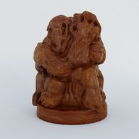 statuette monkeys max