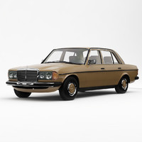 Mercedes-Benz W123 Saloon 1976-85