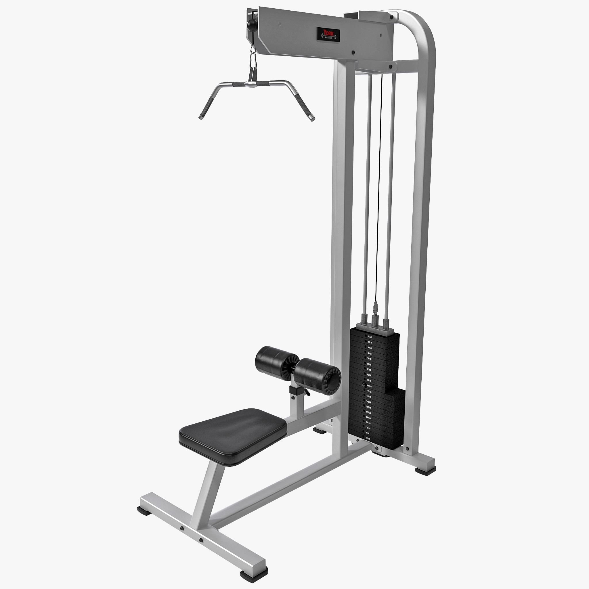 lat pulldown machine accessories