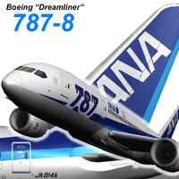 Boeing 787 800 ANA