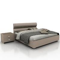 3d bed materials