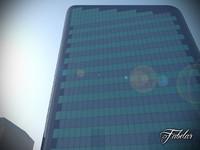 maya skyscraper modular mentalray