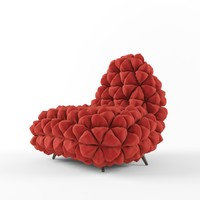 anana chair 3d obj