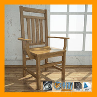 solid oak dining room 3ds