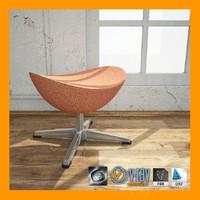 ottoman materials render 3d max