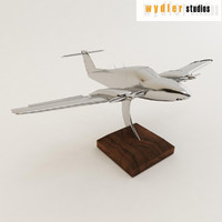 decorative plane 3d 3ds