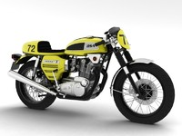 3d bsa rocket 3 racer model