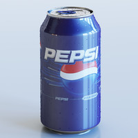 3d model drink
