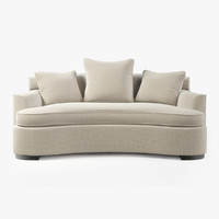 3d model bolier modern luxury sofa