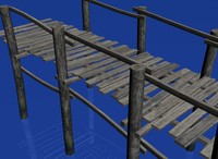 wooden bridge max