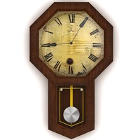 3ds max wall clock