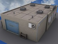 3d shop store model