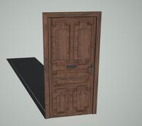 3ds antique door