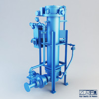 3d model of t type na pump