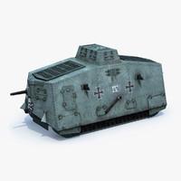 German A7V Tank