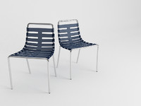 3d model chair uchida body